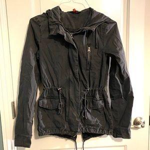 H&M Dark grey utility jacket